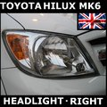 View Item Toyota Hilux Mk6 RHD headlight Right OE